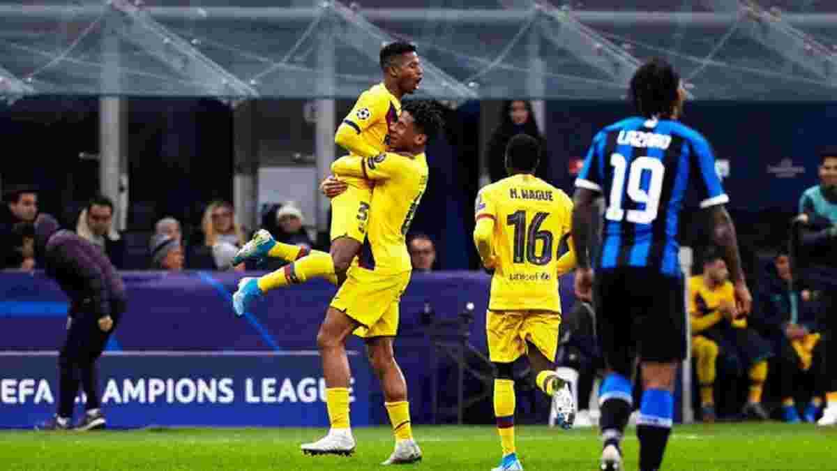 """Триумф каталонской молодежи и очередной провал """"нерадзурри"""" в видеообзоре матча Интер – Барселона – 1:2"""