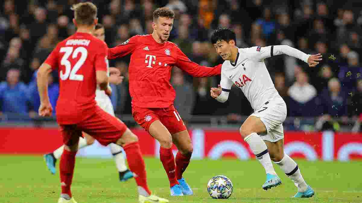 Баварія – Тоттенхем: онлайн-трансляція матчу Ліги чемпіонів