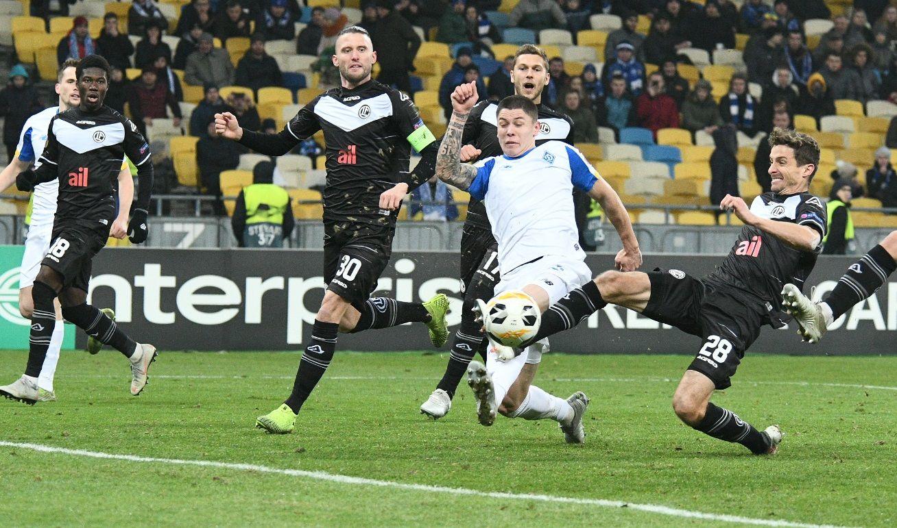 Динамо – Лугано – 1:1 – видео голов и обзор матча