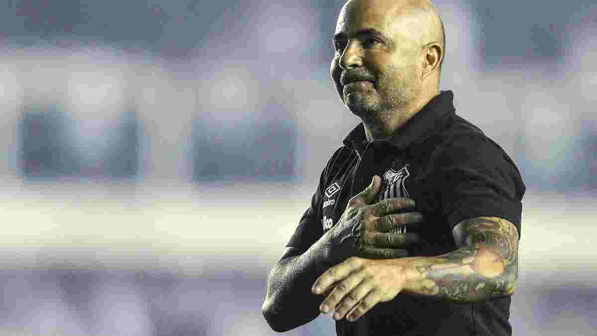 Сампаоли покинул Сантос Дерлиса Гонсалеса после триумфа над чемпионом