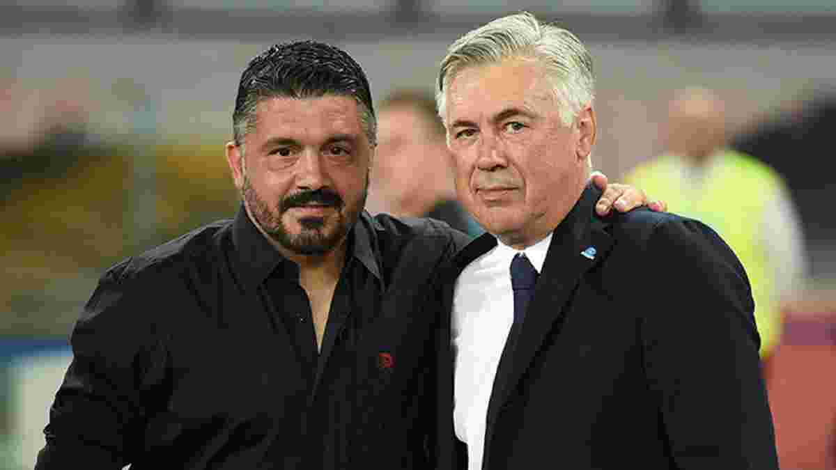 Гаттузо оценил свое назначение тренером Наполи и трогательно вспомнил Анчелотти