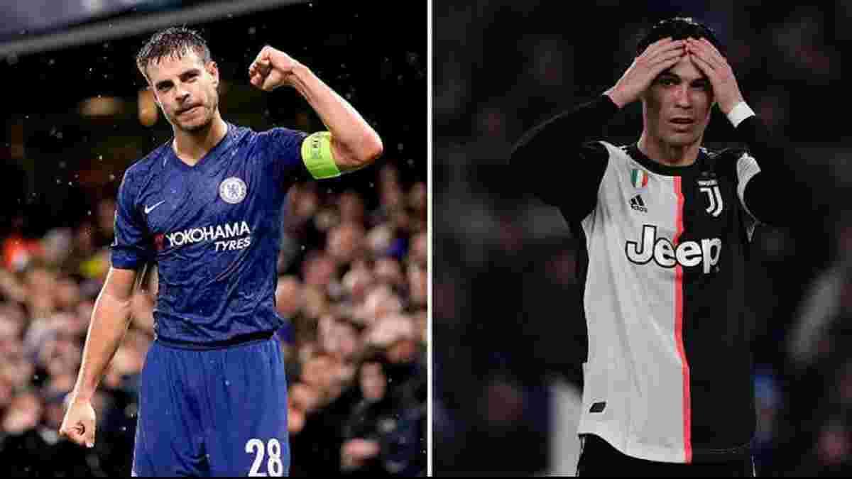 Челси потроллил Роналду после выхода в плей-офф Лиги чемпионов