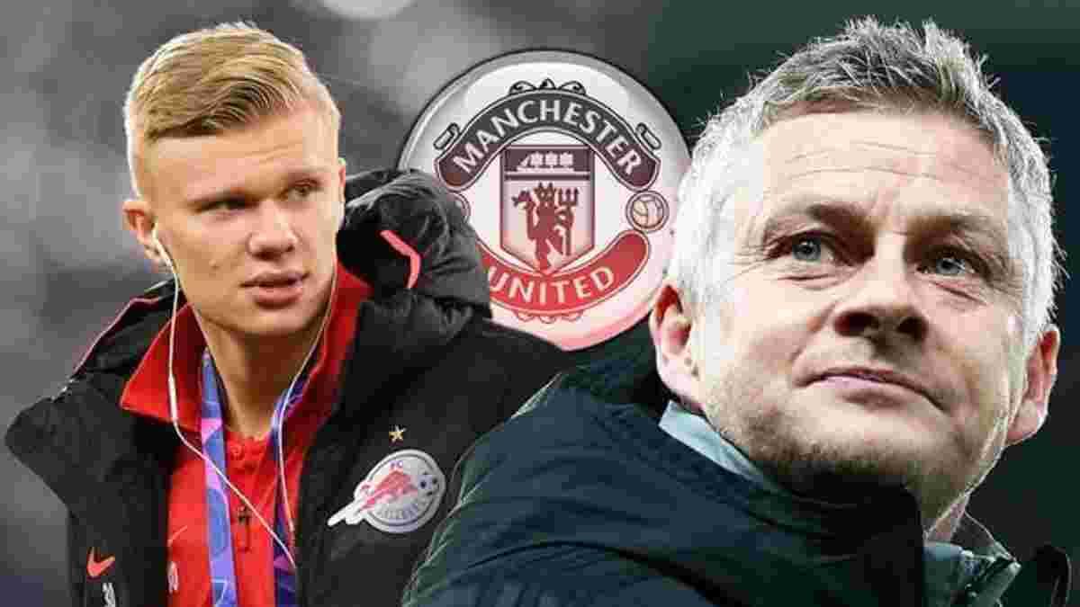 Холанд повідомив Сульшеру, що хоче перейти в Манчестер Юнайтед