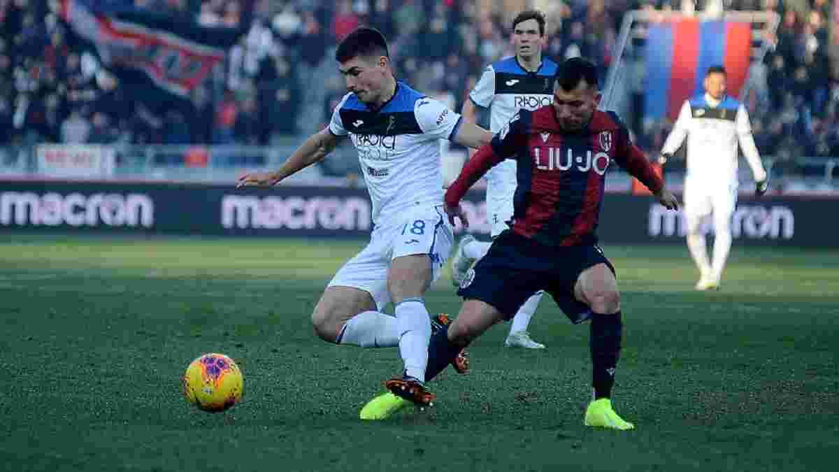 Гасперіні похвалив Маліновського після забитого м'яча у ворота Болоньї