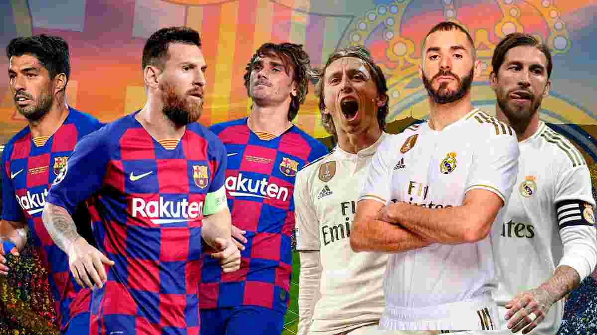 Барселона – Реал Мадрид: видеотрансляция на Эль Класико