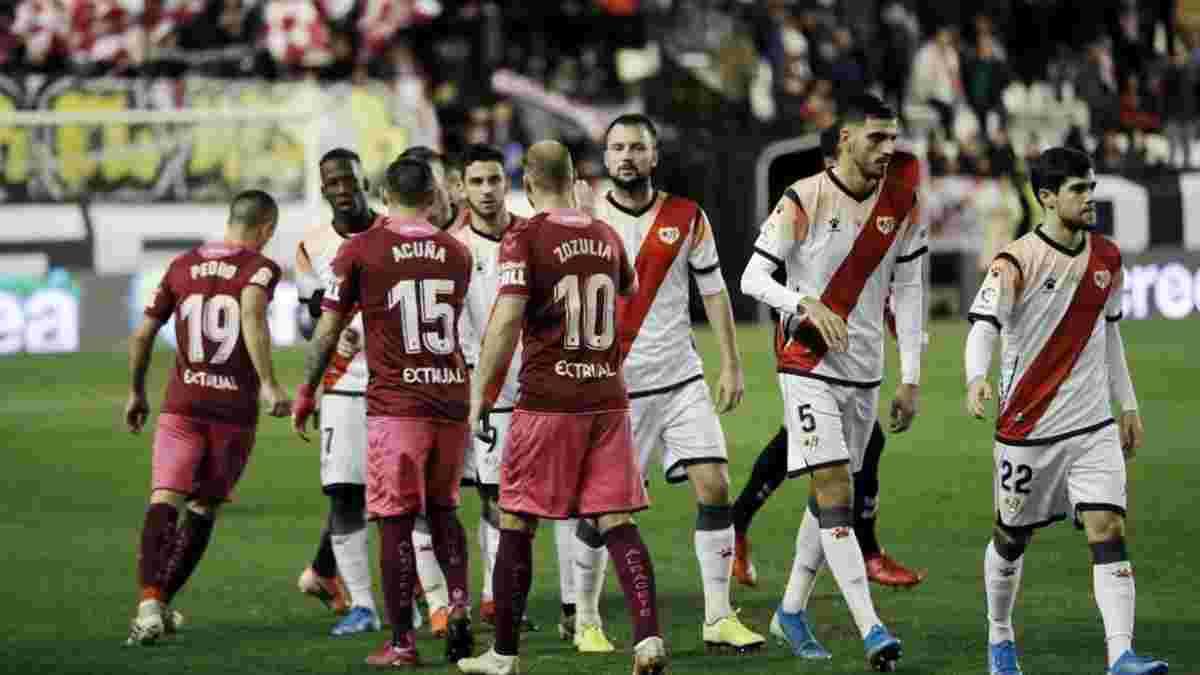 Райо Вальекано – Альбасете: в Испании анонсировали возможное решение об остановке матча из-за оскорблений Зозули