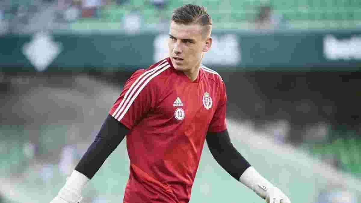 Лунін дебютує за Вальядолід у матчі Кубка Іспанії проти Толоси – українець потрапив до стартового складу