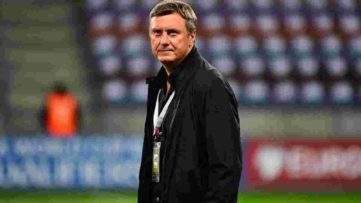 Хацкевич прокомментировал свое назначение главным тренером Ротора