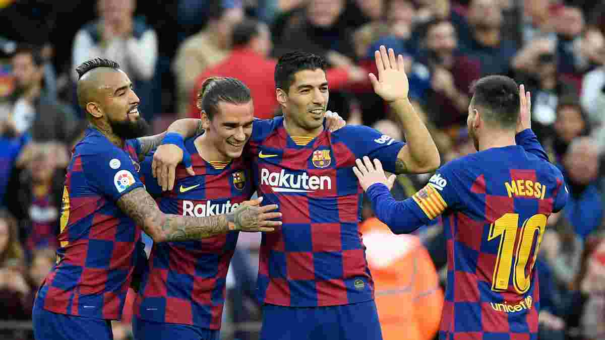 Барселона завершила год без поражений на Камп Ноу в седьмой раз в истории клуба