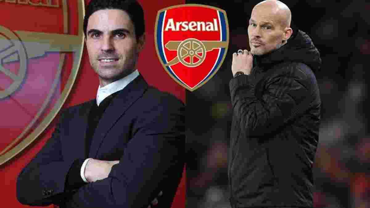 Юнгберг отримав запрошення стати помічником Артети у Арсеналі