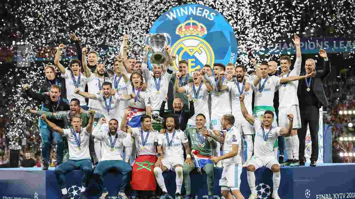 УЄФА представив рейтинг найкращих клубів в історії Ліги чемпіонів – у топ-20 є представник України
