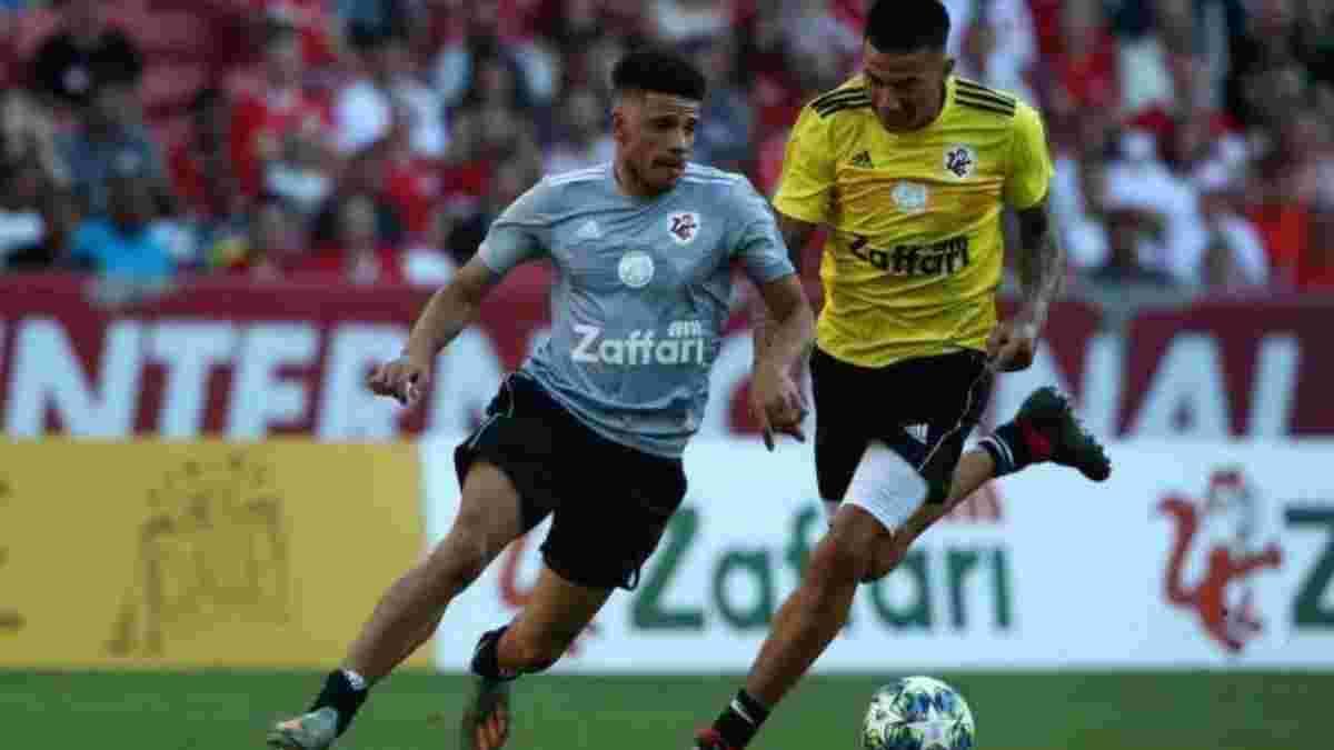 Тайсон забив гол легенді Мілана у благодійному матчі