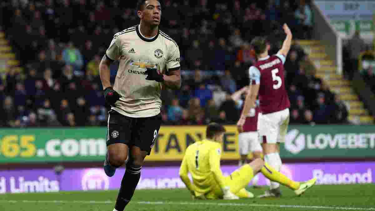Манчестер Юнайтед одержал победу над Бёрнли, Норвич расписал ничью с Тоттенхэмом: 20-й тур АПЛ, матчи субботы