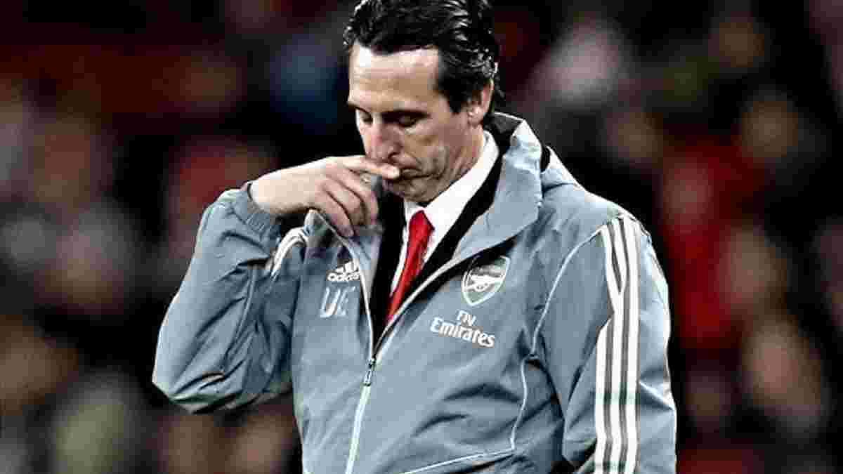 Емері зізнався, хто з гравців Арсенала не прийшов попрощатись з ним після звільнення