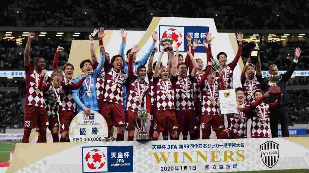 Давид Вилья триумфально завершил карьеру – команда легенд Барселоны выиграла Кубок Японии