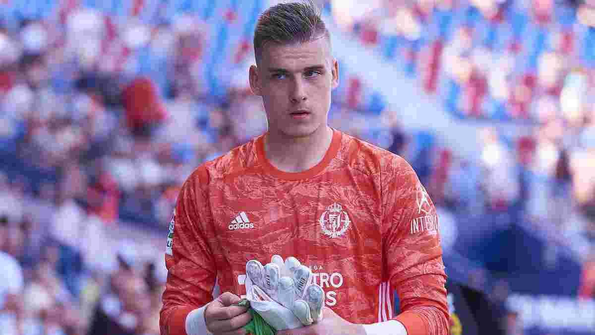 Лунин попал в сборную разочарований первой половины сезона Ла Лиги