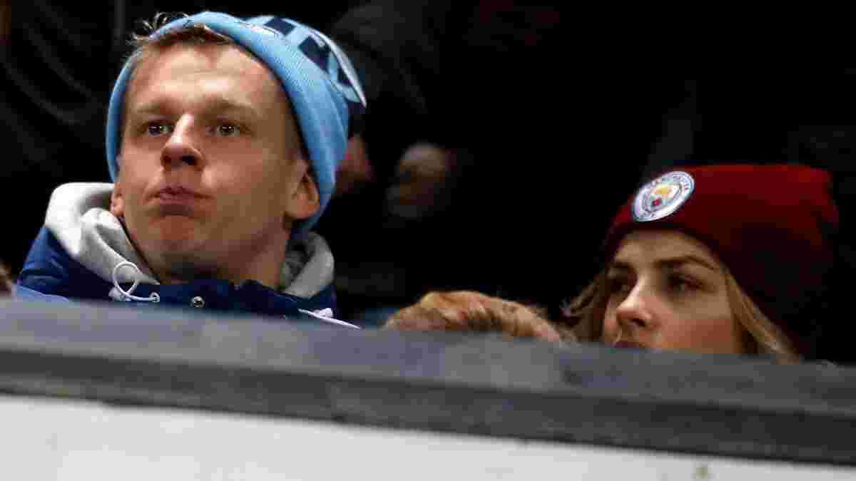 Зінченко переглядав дербі на трибуні Олд Траффорд поруч з фанами Манчестер Сіті – вони в захопленні