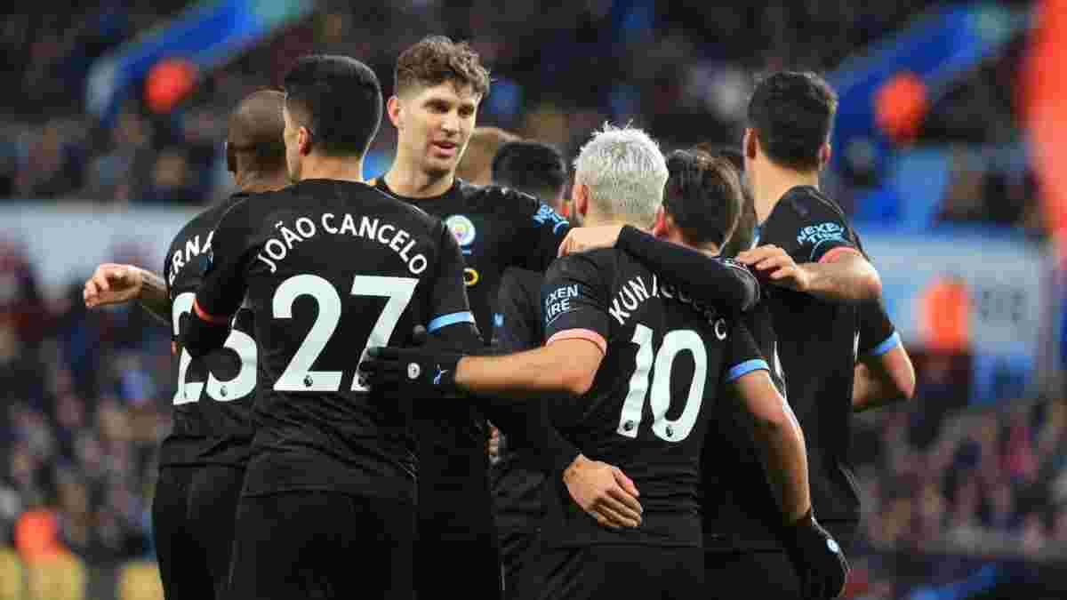 Астон Вилла – Манчестер Сити – 1:6 – видео голов и обзор матча