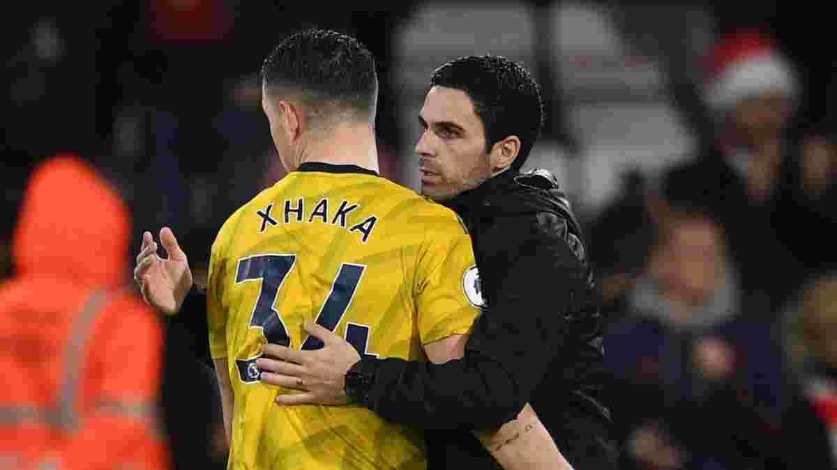 Артета: Гадаю, я переконав Джаку залишитись в Арсеналі