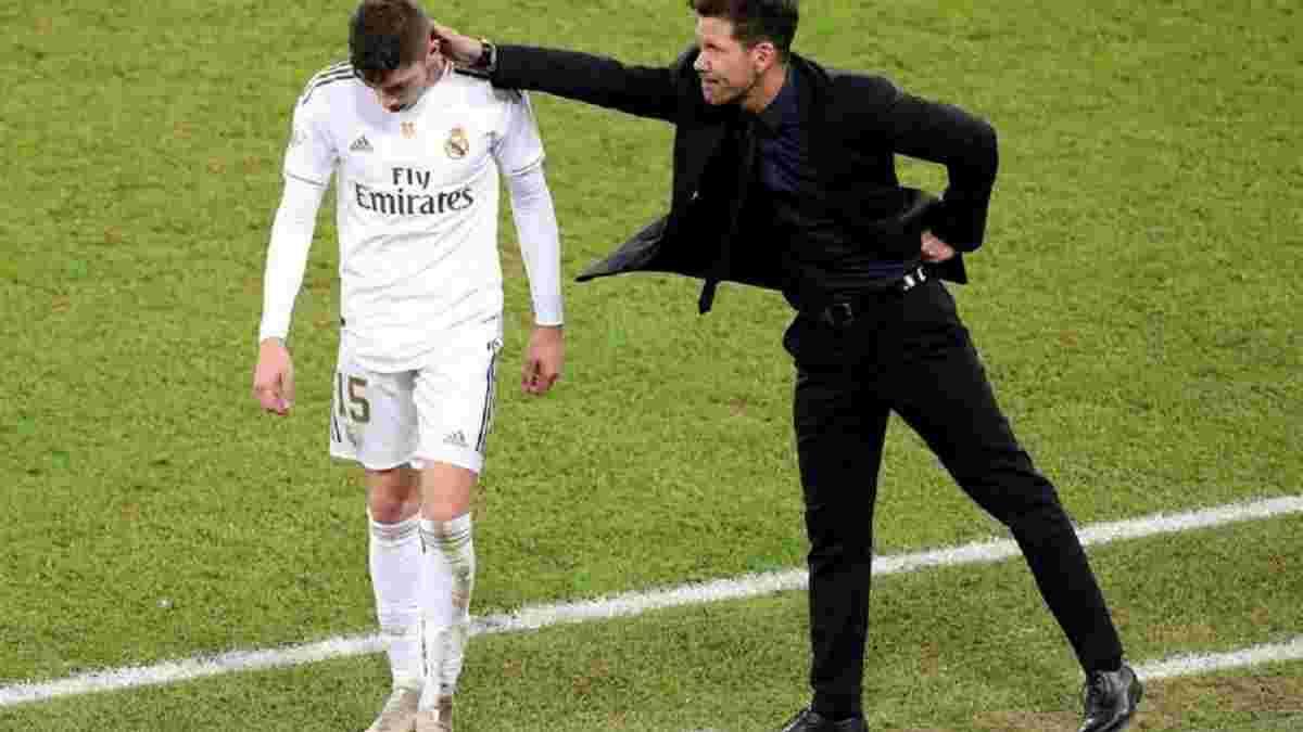 Сімеоне назвав гравця, який виграв для Реала Суперкубок Іспанії – несподіваний вибір