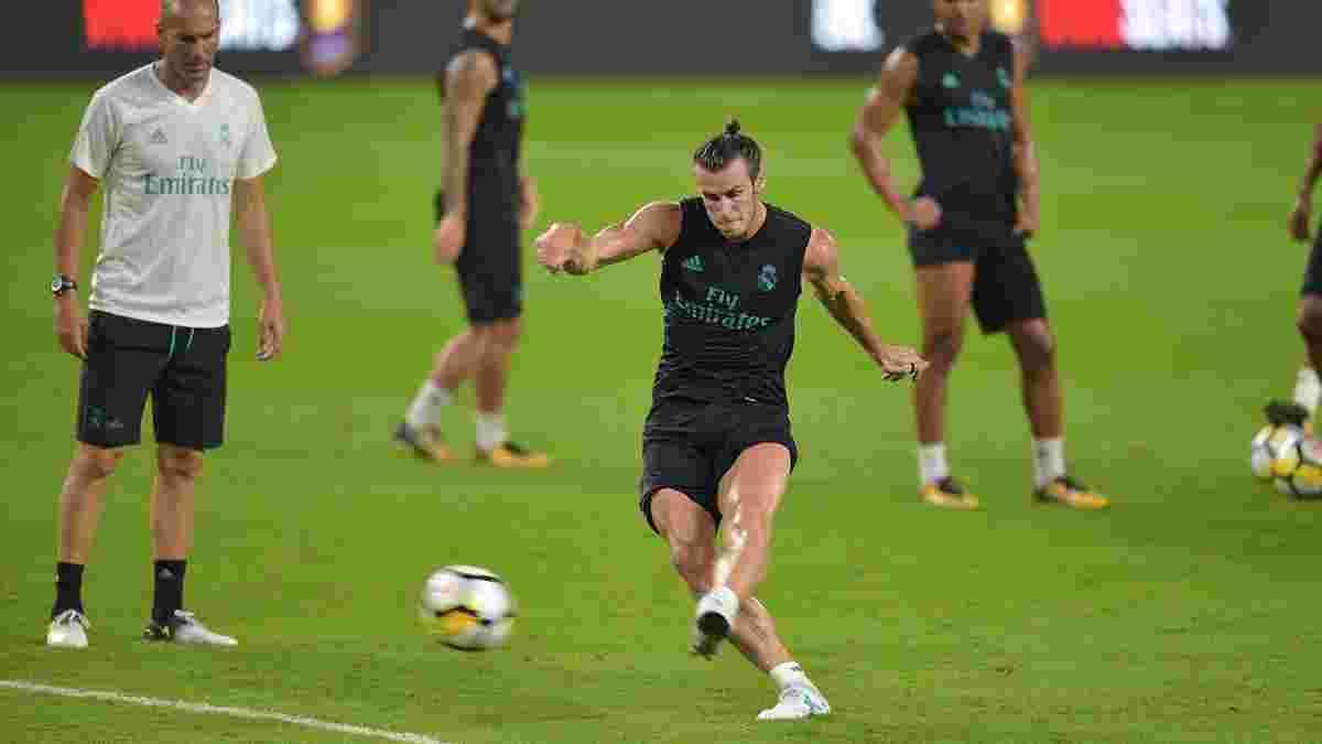 Бейл повернувся до тренувань з Реалом