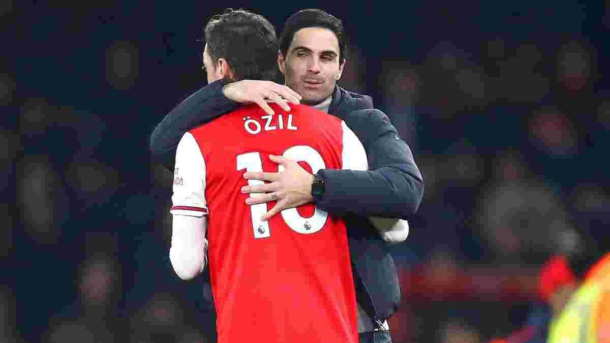 Озил рассказал об изменениях в Арсенале после прихода Артеты