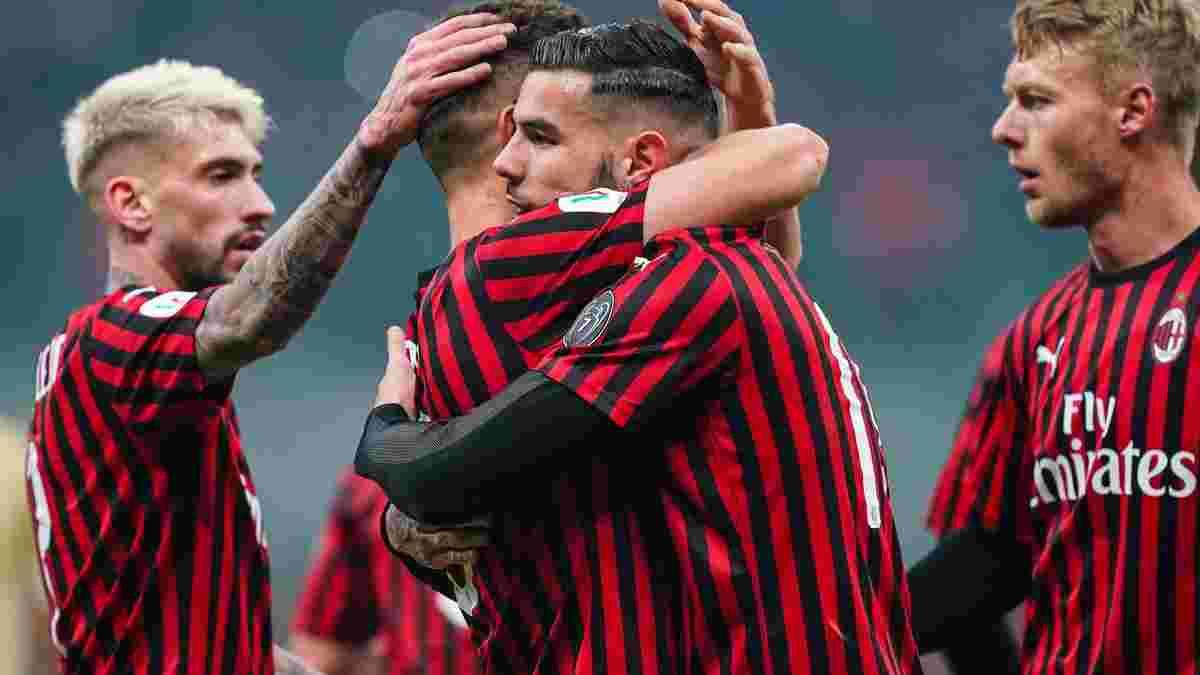 Элегантная красота Кастильехо и пушка от Эрнандеса в видеообзоре матча Милан – СПАЛ – 3:0