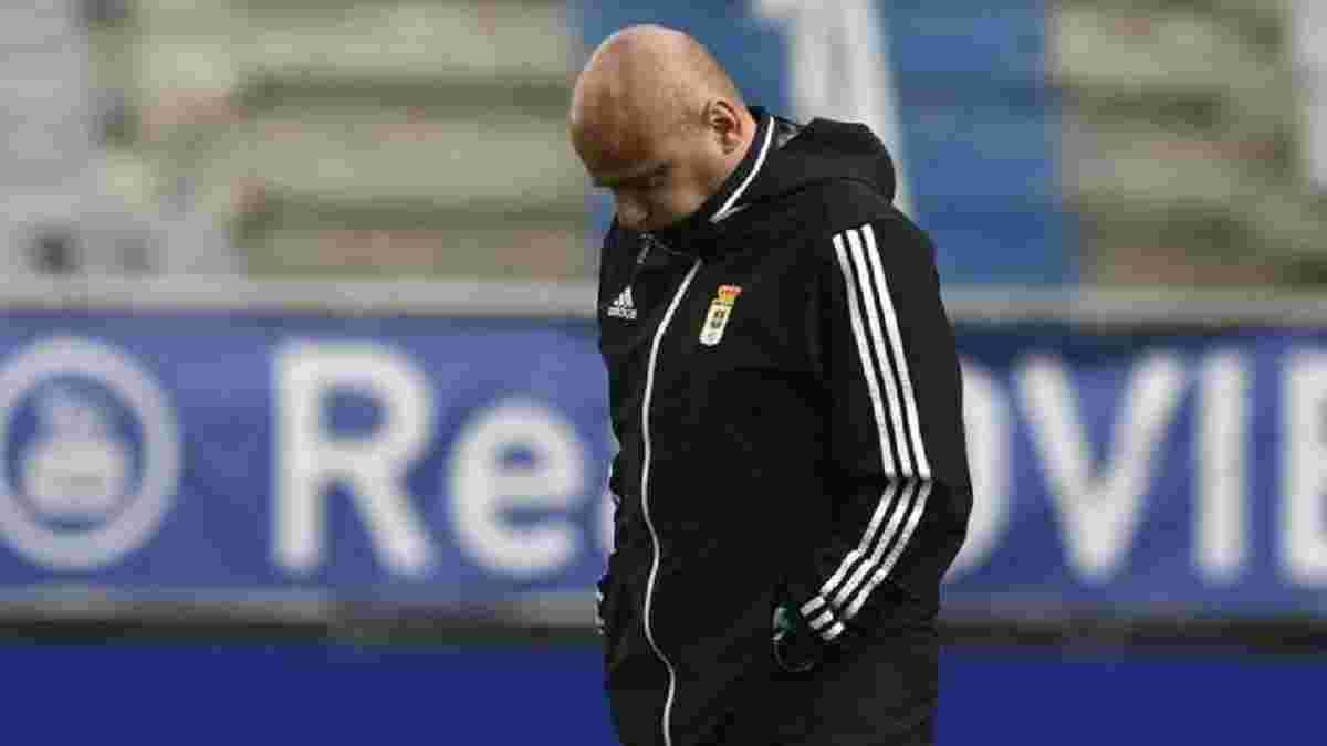 Тренер Овьедо прокомментировал дебют Лунина в команде – наставник не считает ошибку украинца ключевой в поражении
