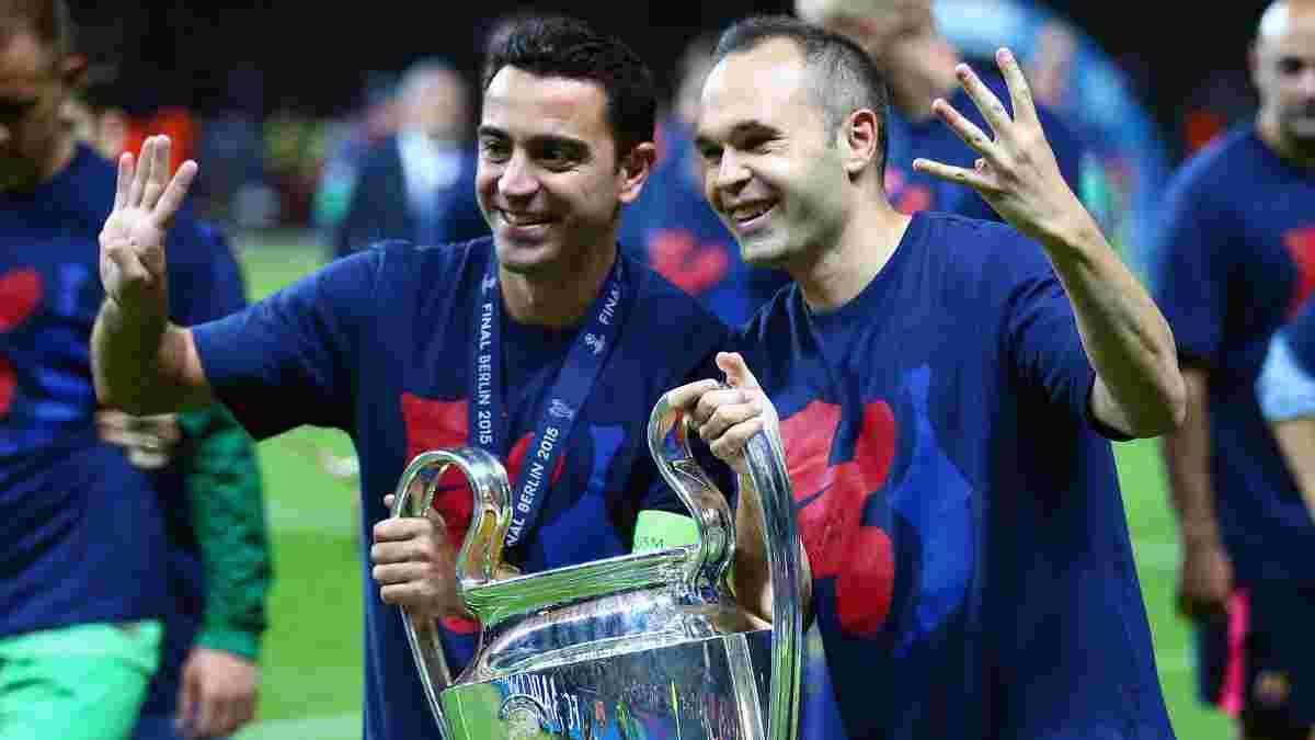 Іньєста оцінив можливість працювати разом з Хаві у тренерському штабі Барселони