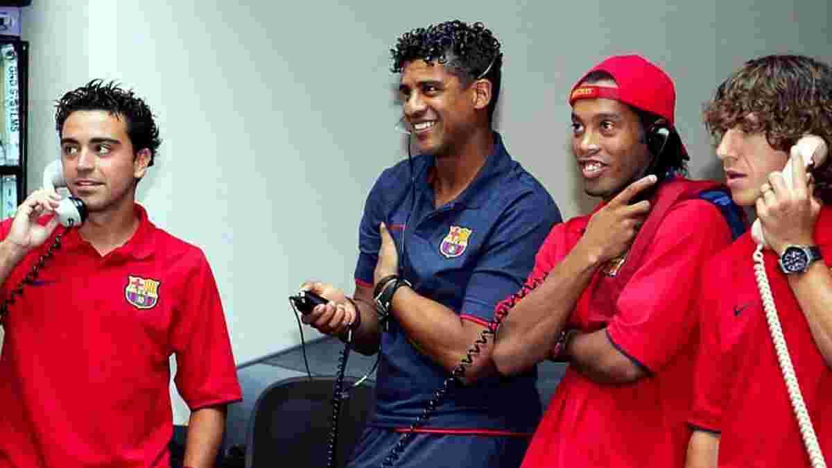 Роналдиньо назвал лучшего тренера, с которым ему приходилось работать