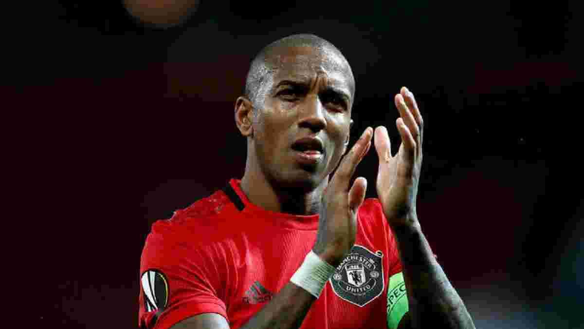 Янг емоційно попрощався з Манчестер Юнайтед
