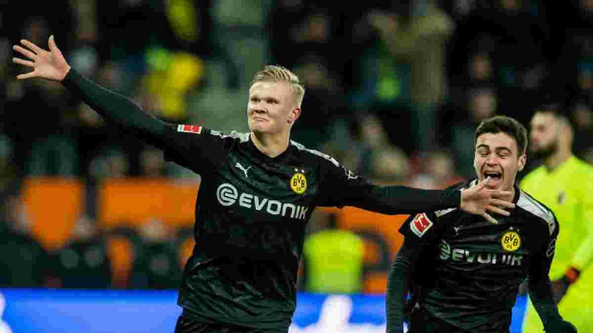 Холанд лаконічно прокоментував свій сенсаційний дебют за дортмундську Борусію