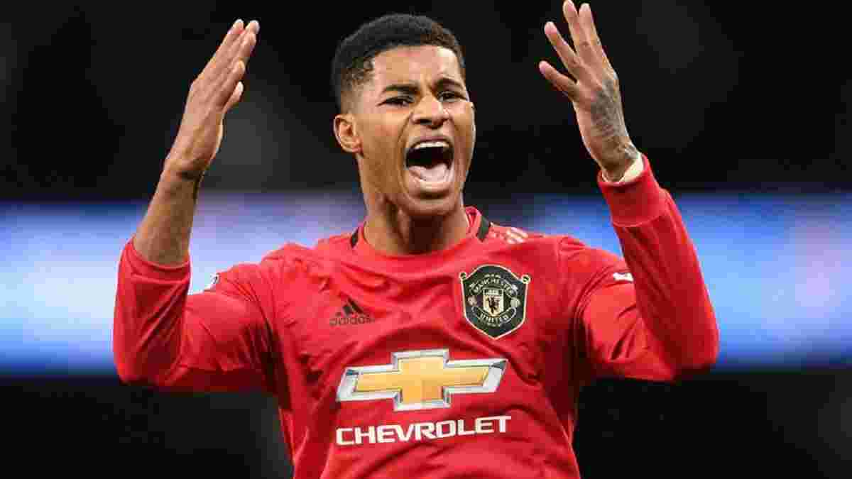 Рашфорд не зіграє проти Ліверпуля – лідер Манчестер Юнайтед може пропустити декілька матчів