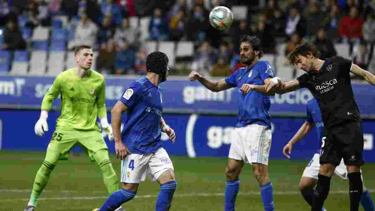 Ов'єдо – Уеска: Лунін вже краще – українець як учасник всіх голів, а екс-форвард Атлетіко шокує чемпіона Англії
