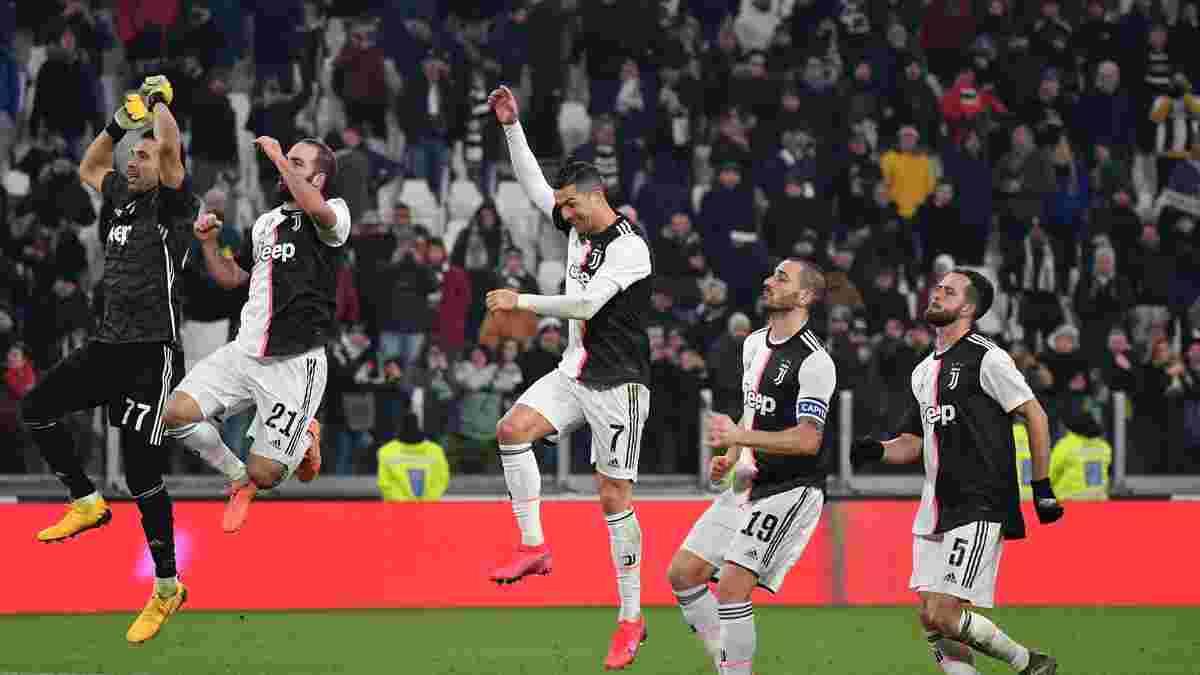 Ювентус вийшов у півфінал Кубка Італії, перегравши Рому: перемога Сарріболу, гольова машина Роналду та топ-гра Буффона