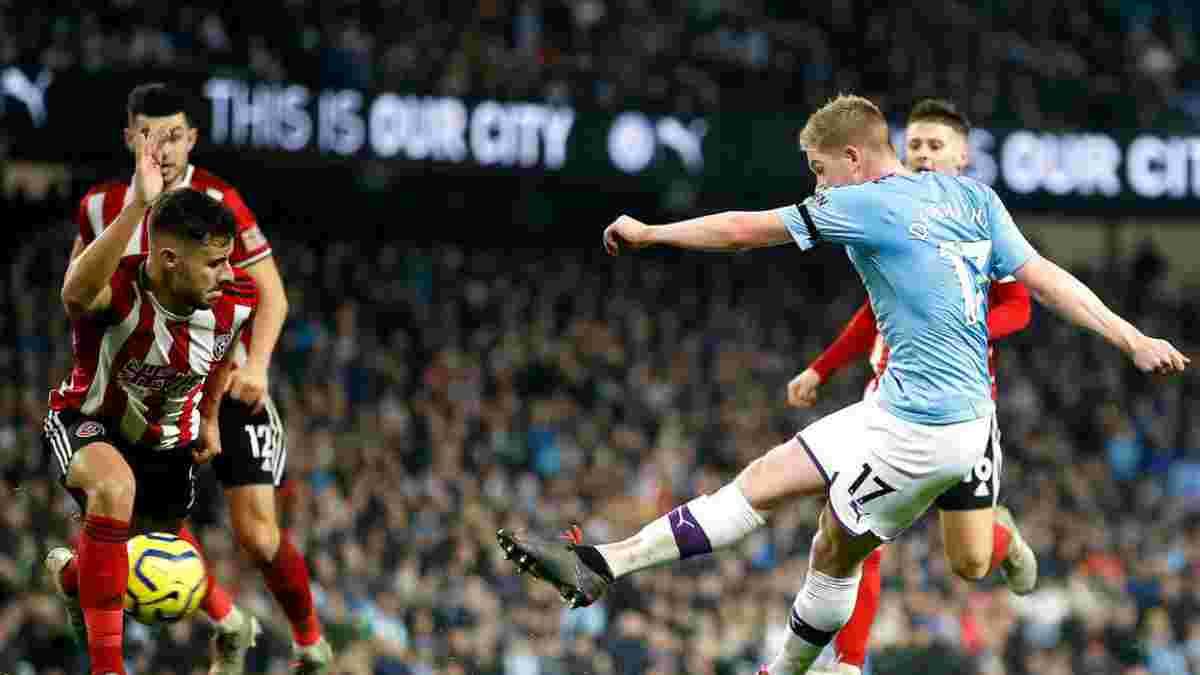 Шеффілд Юнайтед – Манчестер Сіті: онлайн-трансляція матчу із Зінченком у старті