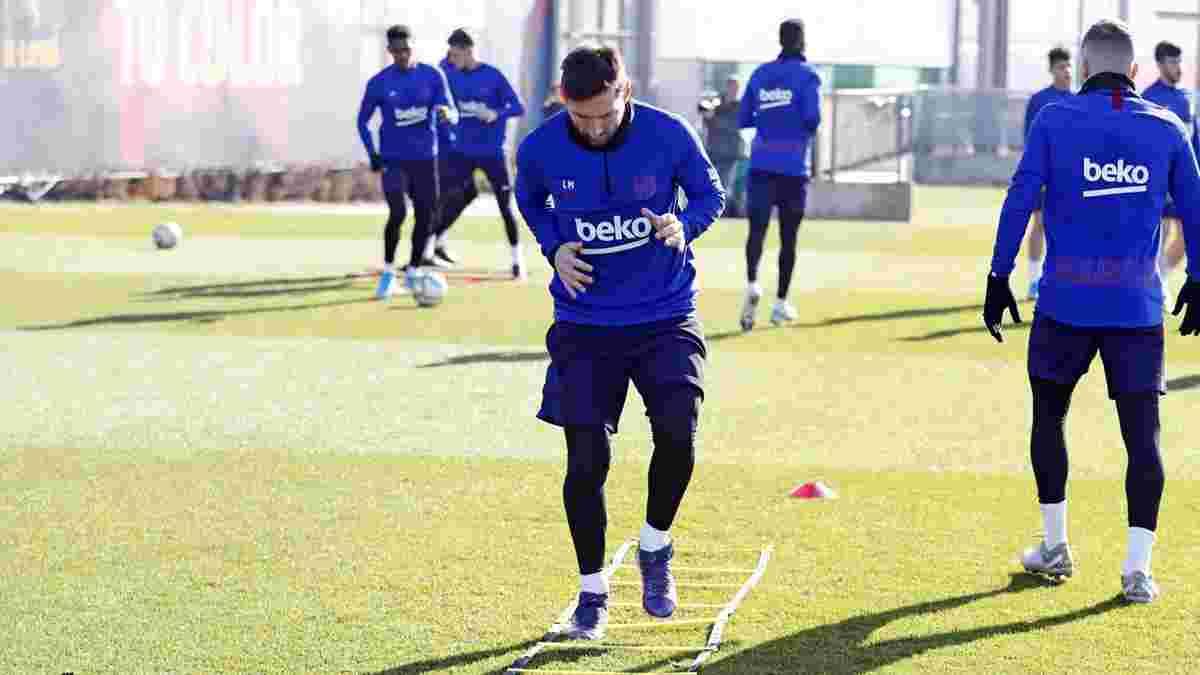 Мессі та ще 2 провідні гравці не допоможуть Барселоні в матчі Кубка Іспанії