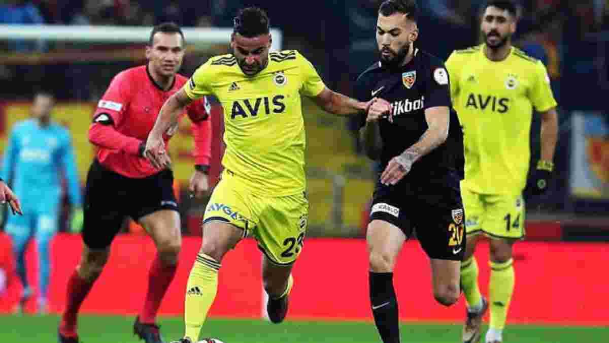 Кравець не допоміг Кайсеріспору уникнути поразки у Кубку Туреччини – команда українця поступилася гранду