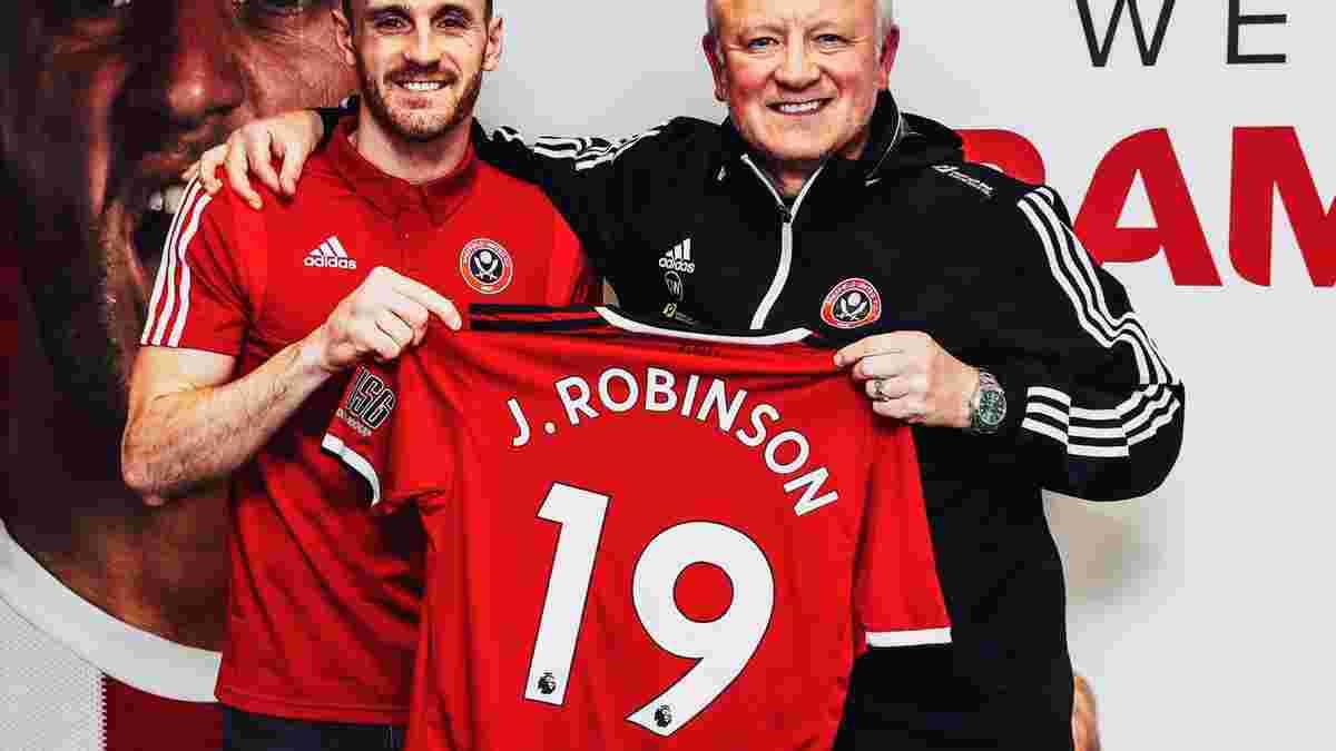 Шеффілд Юнайтед підписав екс-оборонця Ліверпуля Робінсона