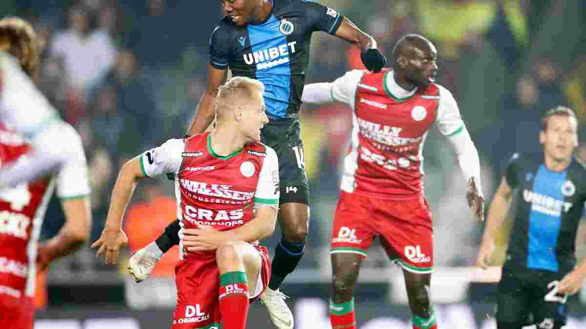 Брюгге Соболя не смог обыграть Зюлте-Варегем в полуфинале Кубка Бельгии – финалист определится в ответном матче