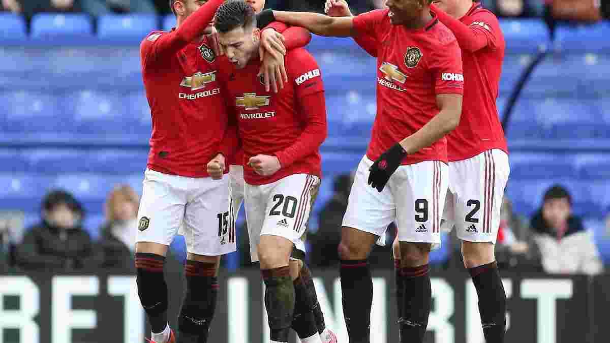 Кубок Англії: Манчестер Юнайтед знищив Транмер Роверс з тенісним рахунком