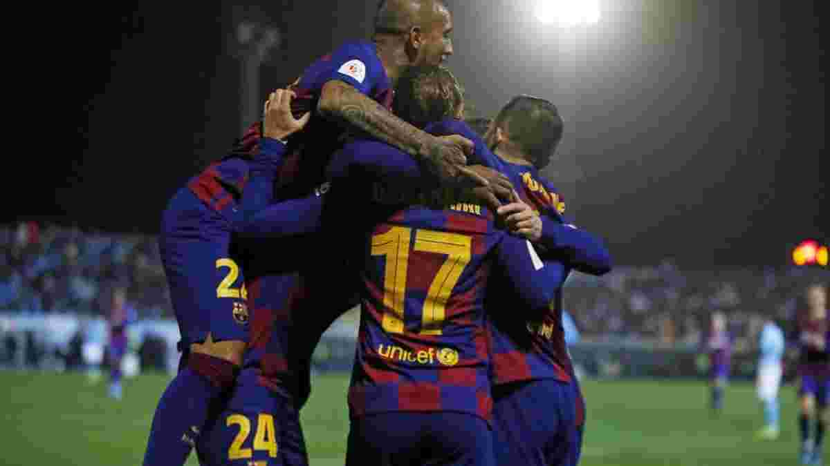 Барселона – Леганес – 5:0 – видео голов и обзор матча