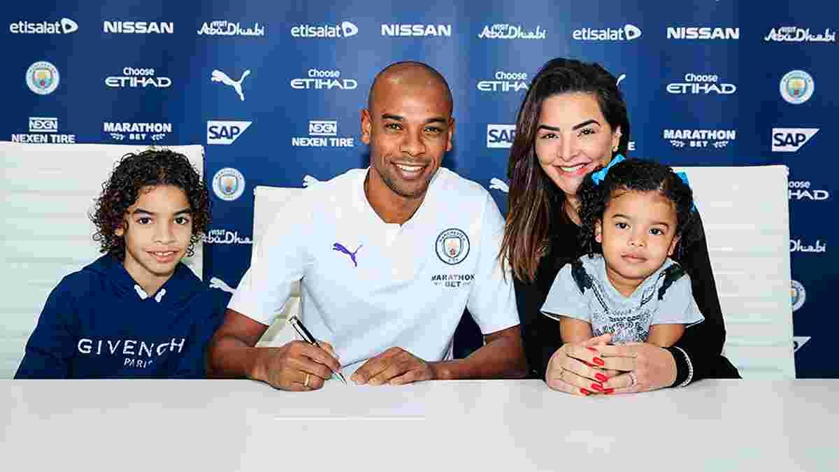 Фернандінью продовжив контракт з Манчестер Сіті