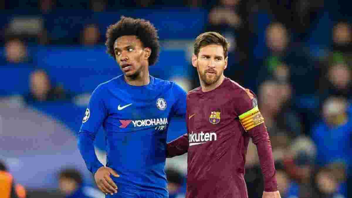 Барселона спробує терміново підписати Вілліана
