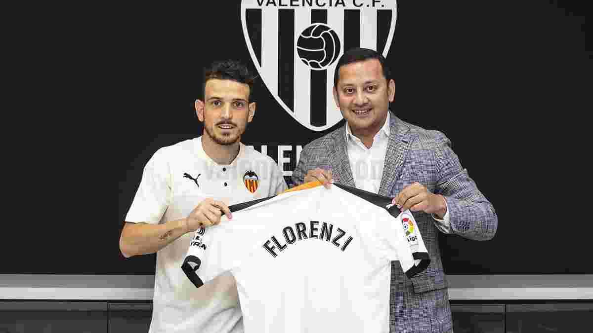 Валенсия арендовала полузащитника Ромы Флоренци