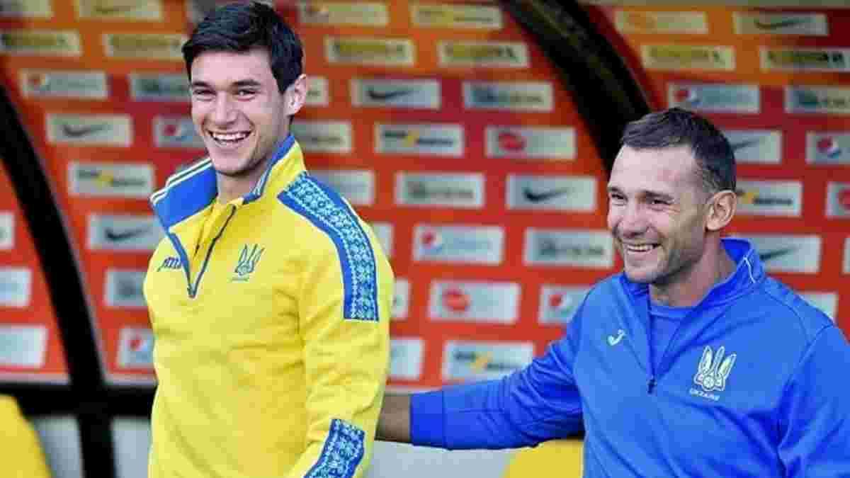 Шевченко оцінив шанси Яремчука на повноцінне відновлення перед Євро-2020