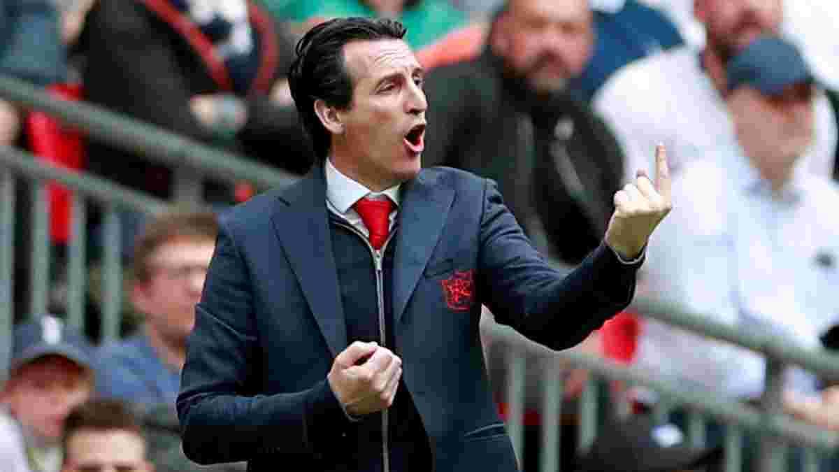 Эмери: Фанаты Арсенала выбросили меня из клуба
