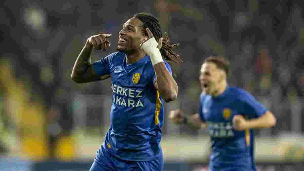 Жерсон Родрігес забив переможний гол за Анкарагюджю у матчі з Фенербахче – ефектні індивідуальні дії динамівця