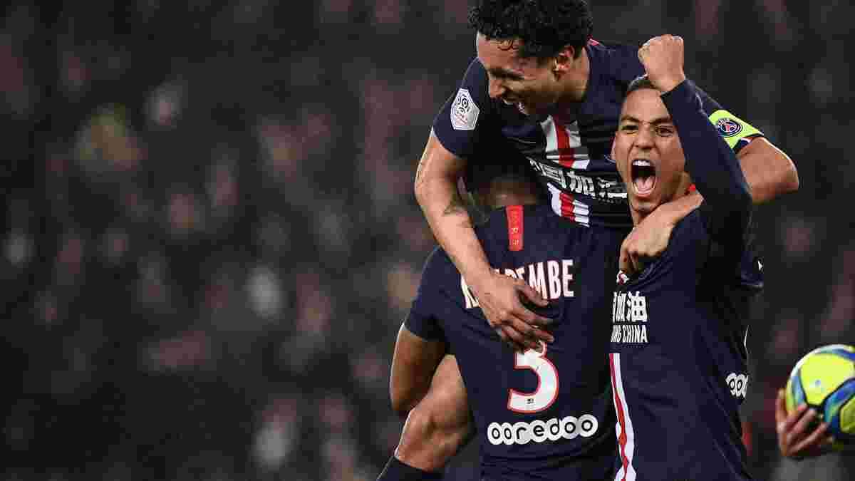 Лига 1: ПСЖ в сумасшедшем триллере с эпическим курьезом перестрелял Бордо, Ренн в большинстве одолел Ним