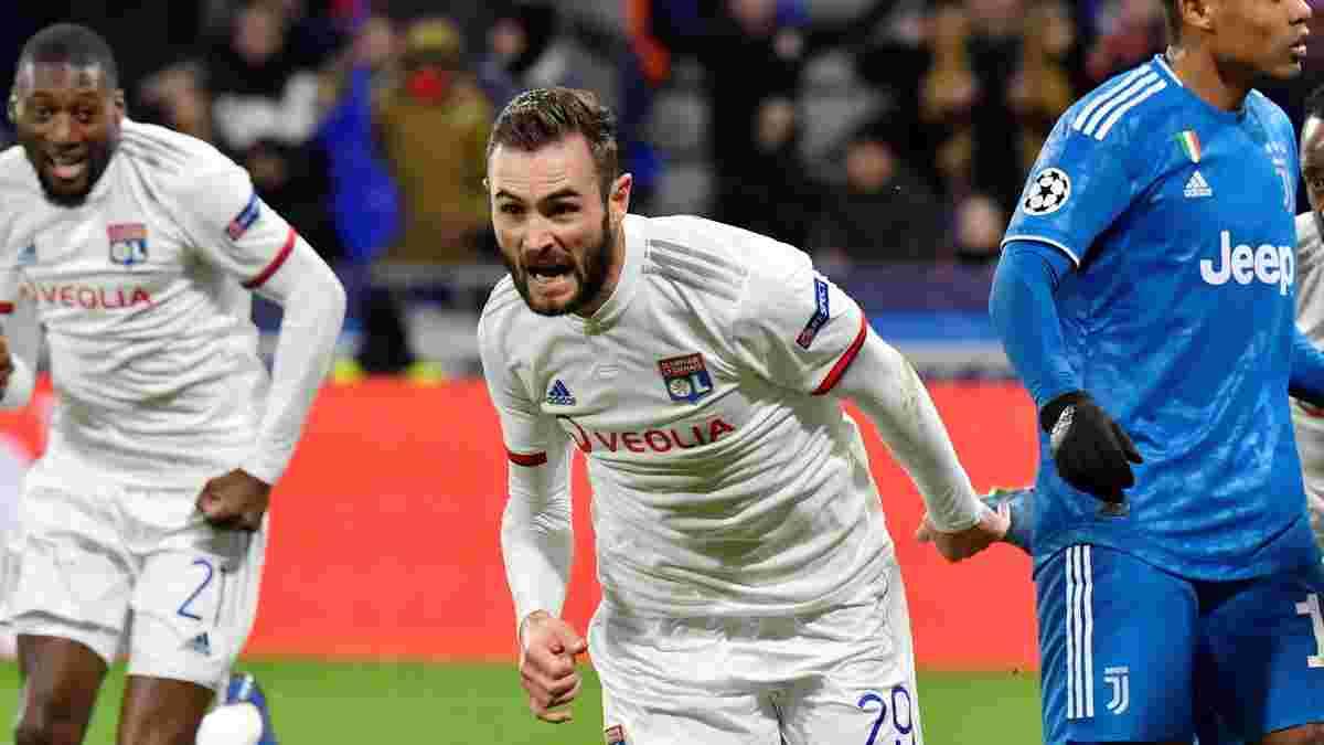 Ліон – Ювентус – 1:0 – відео гола та огляд матчу
